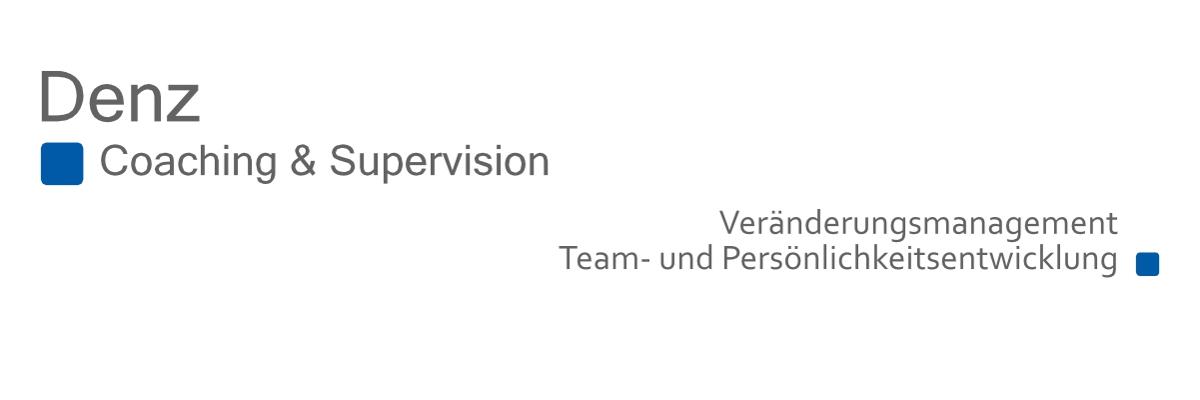 Logo Denz Coaching & Supervision | Startseite Willkommen